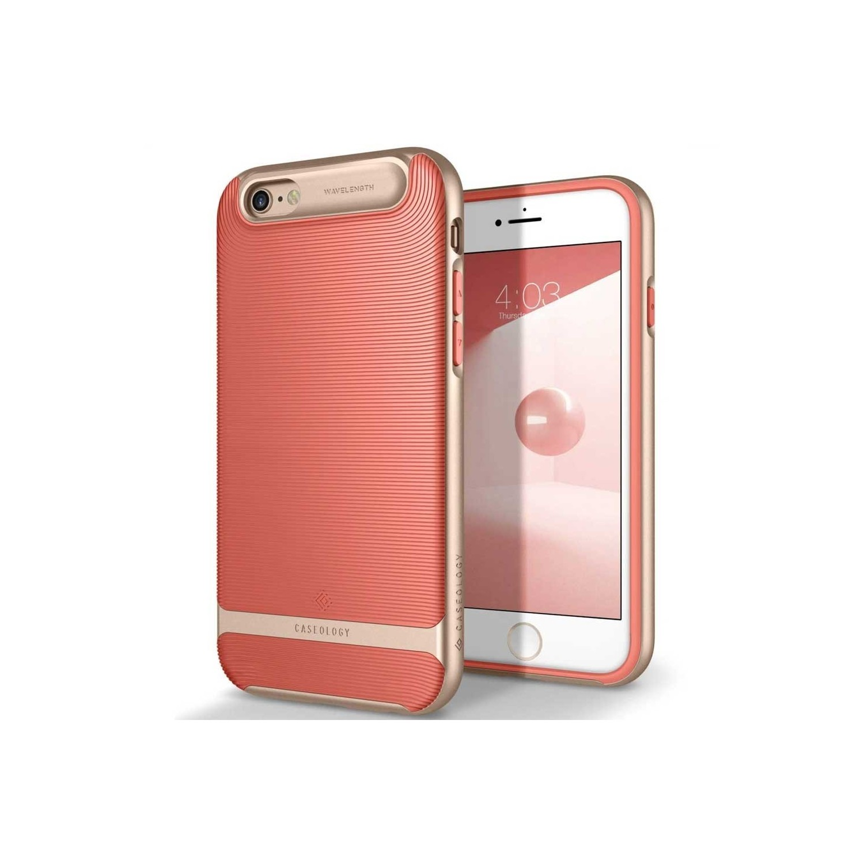 . Funda CASEOLOGY Wavelength Rosa para iPhone 6 y 6s
