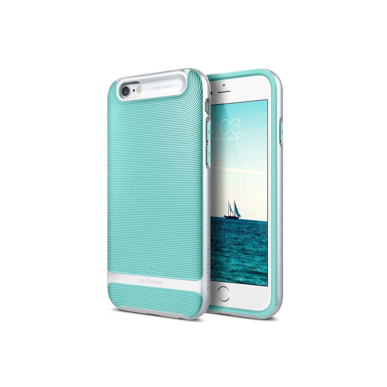 . Funda CASEOLOGY Wavelength Menta para iPhone 6 y 6s