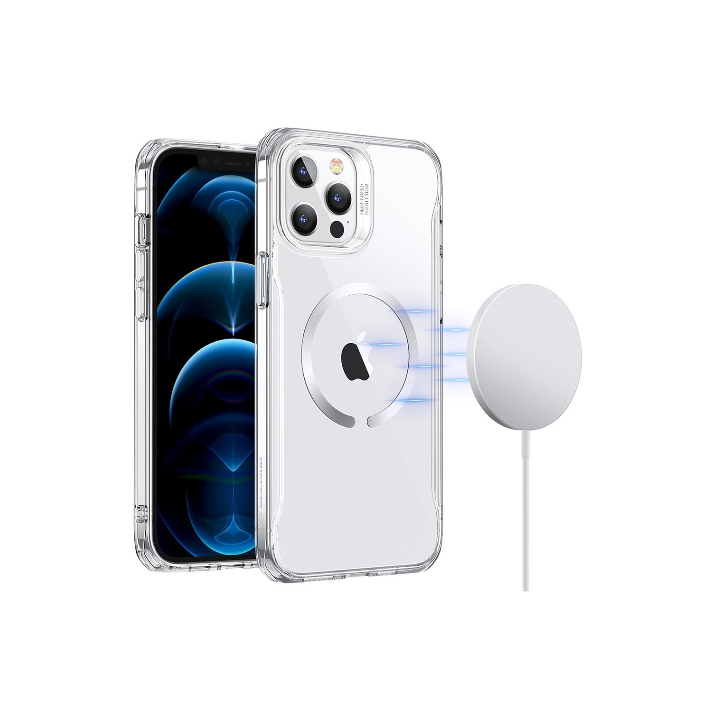 . Funda ESR Hybrid HaloLock para iPhone 12 PRO MAX - Transparente
