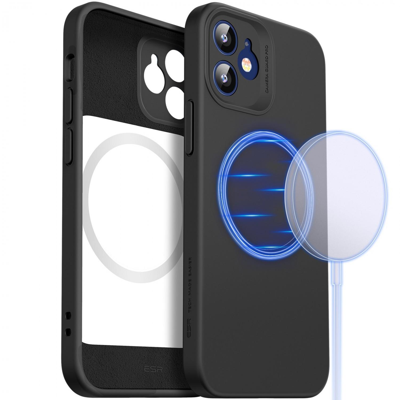 . Funda ESR Cloud MagSafe para iPhone 12 - Negra