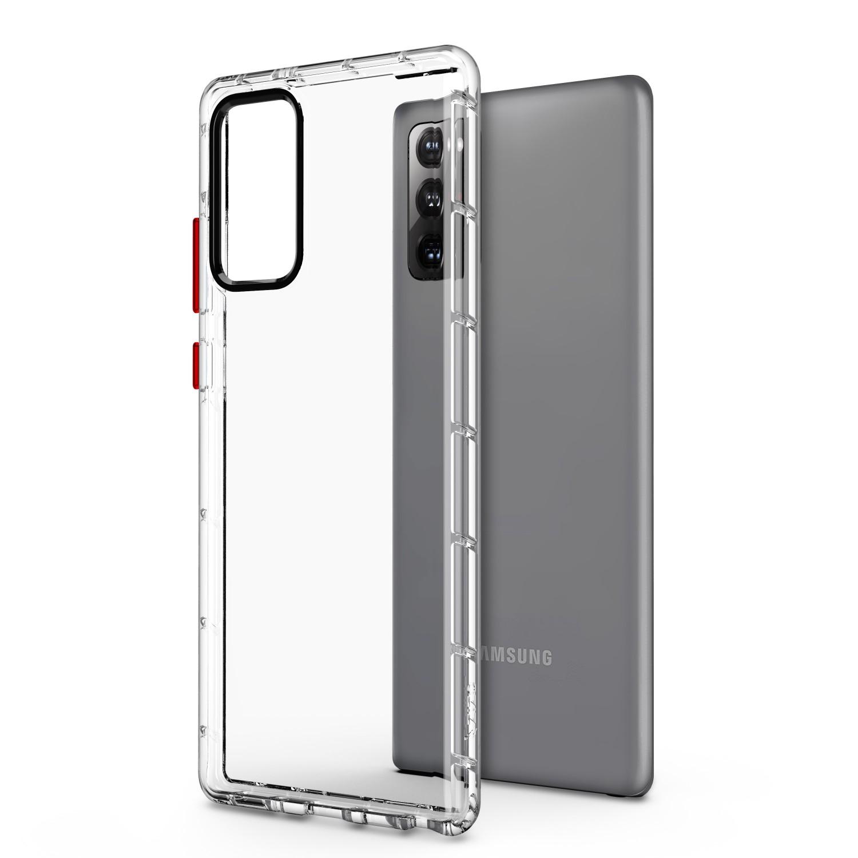 . Funda ZIZO Surge Samsung NOTE 20 TPU Transparente