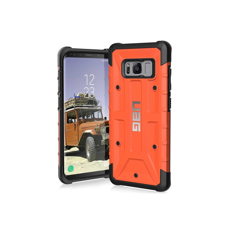 . Funda UAG para Samsung S8 Naranja Pathfinder Protector de uso Rudo