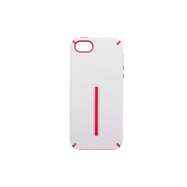 . Funda VECTR KIQ para iPhone 5 Blanco Rosa