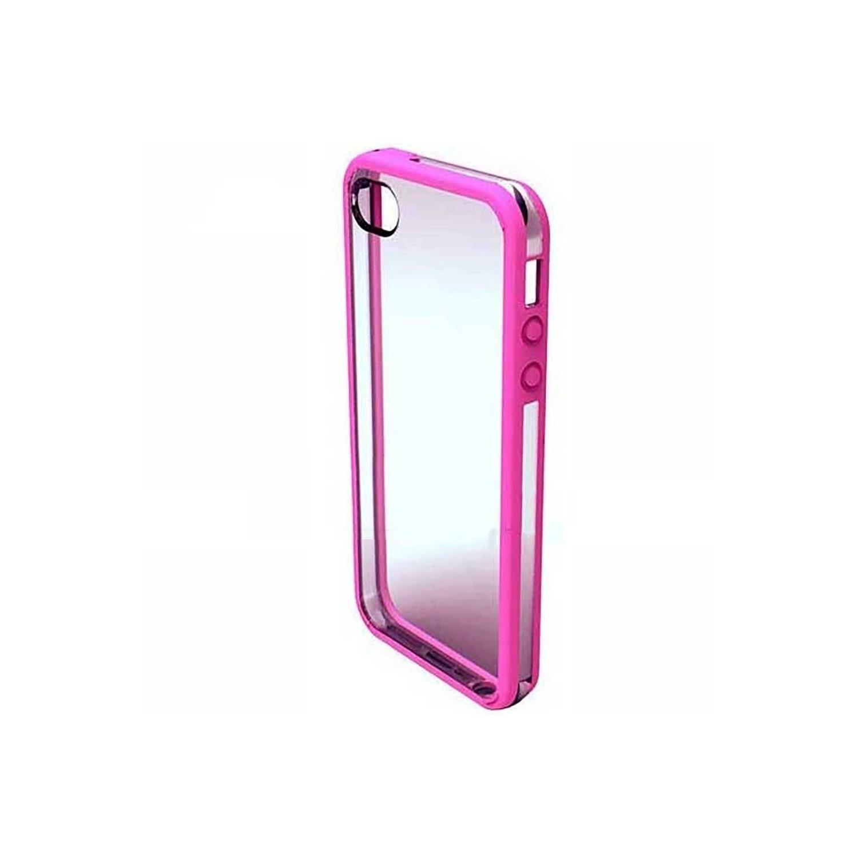 . Funda VECTR Slimshell para iPhone 5 Rosa Transparente