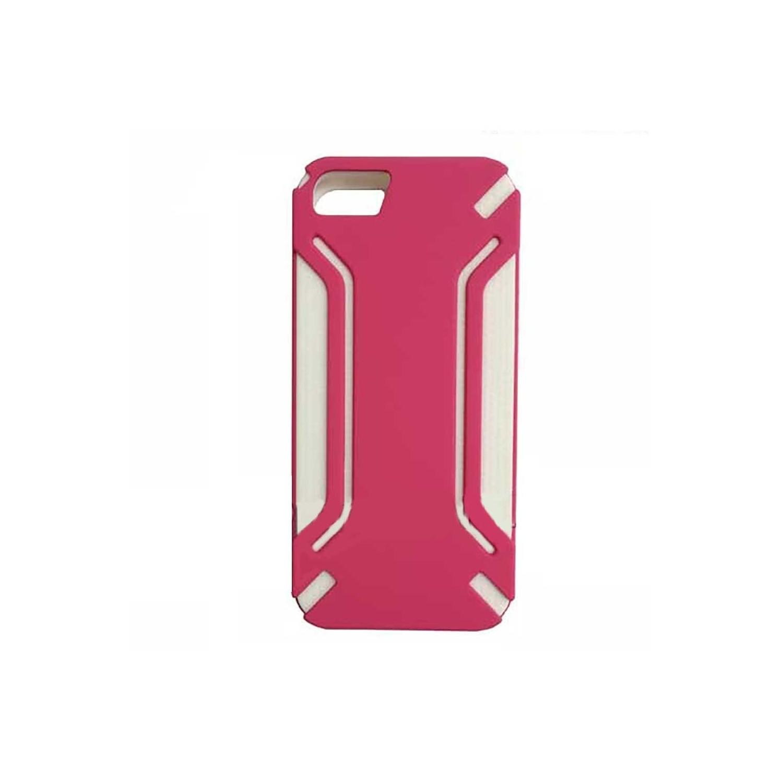 . Funda VECTR Infuse para iPhone 5 Rosa Blanco