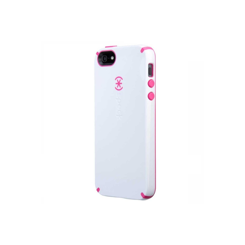 . Funda SPECK para iPhone 5 Candyshell Blanco Rosa
