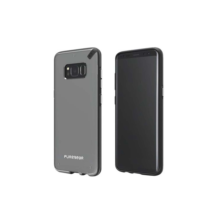 . Funda PUREGEAR Samsung S8 PLUS Slimshell Transparente Negro