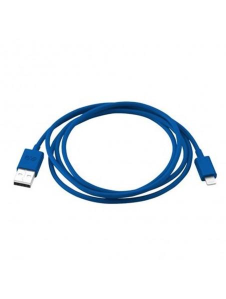 Cable Datos Lightning Puregear Azul - iPhone iPad iPod certificado por Apple