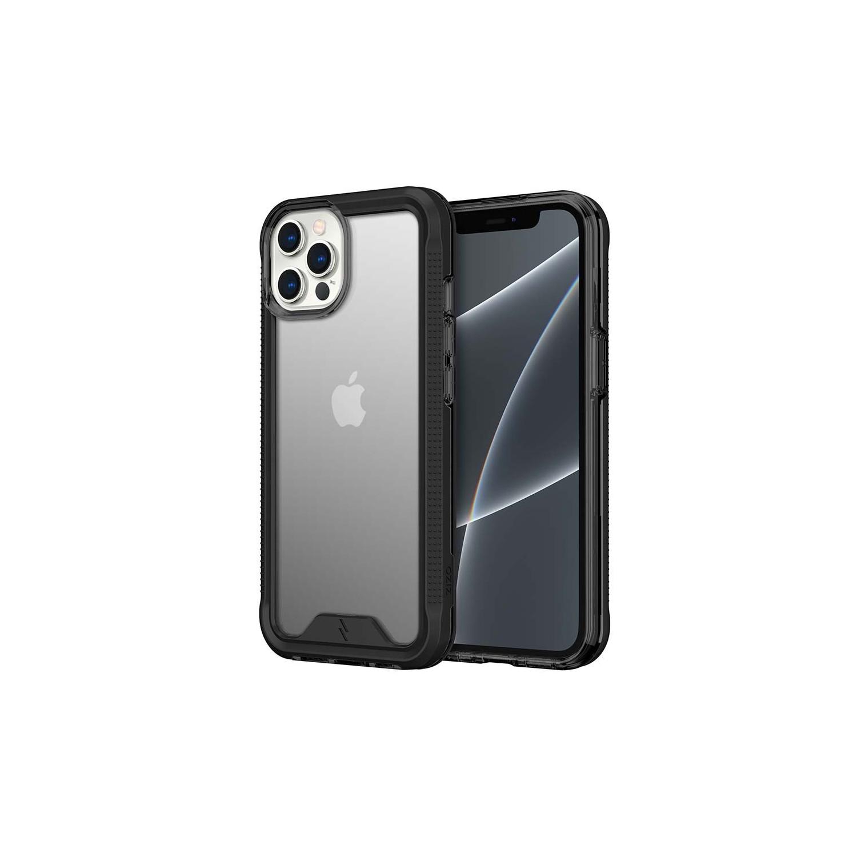 . Funda ZIZO Ion iPhone 13 PRO MAX Humo con mica cristal