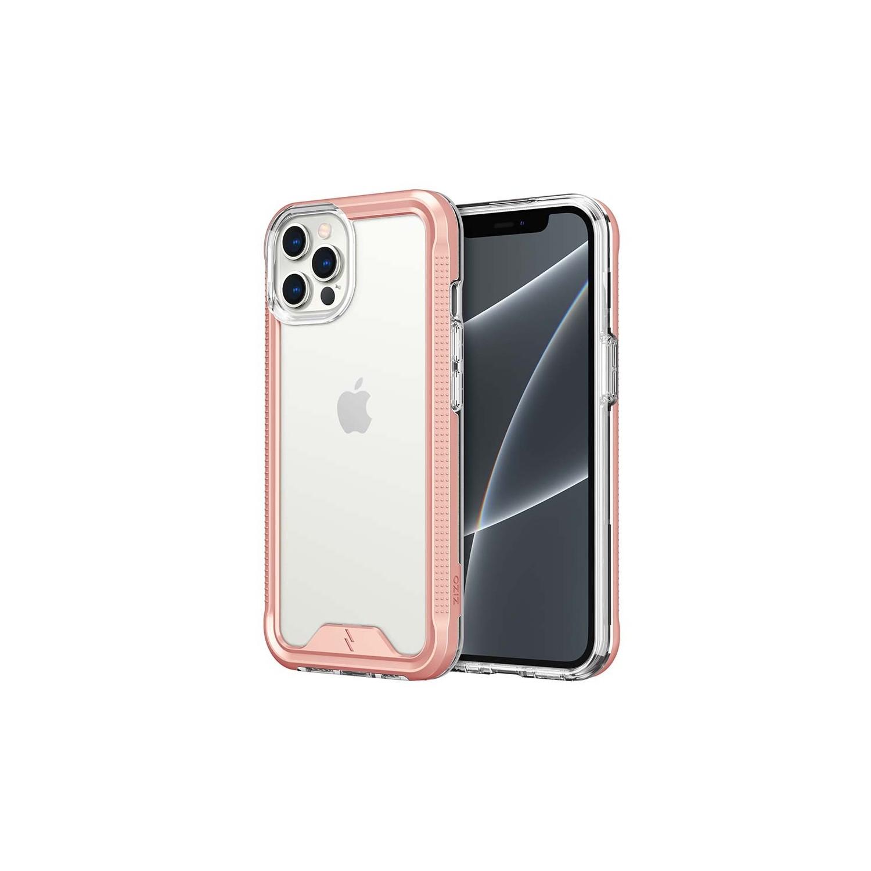 . Funda ZIZO Ion iPhone 13 PRO MAX Rosa con mica cristal