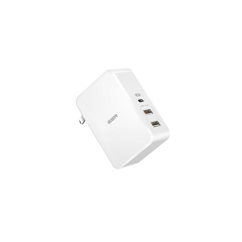 Cargador AC ESR 41W PD Universal USB-C USB-A para iPhone iPad Android