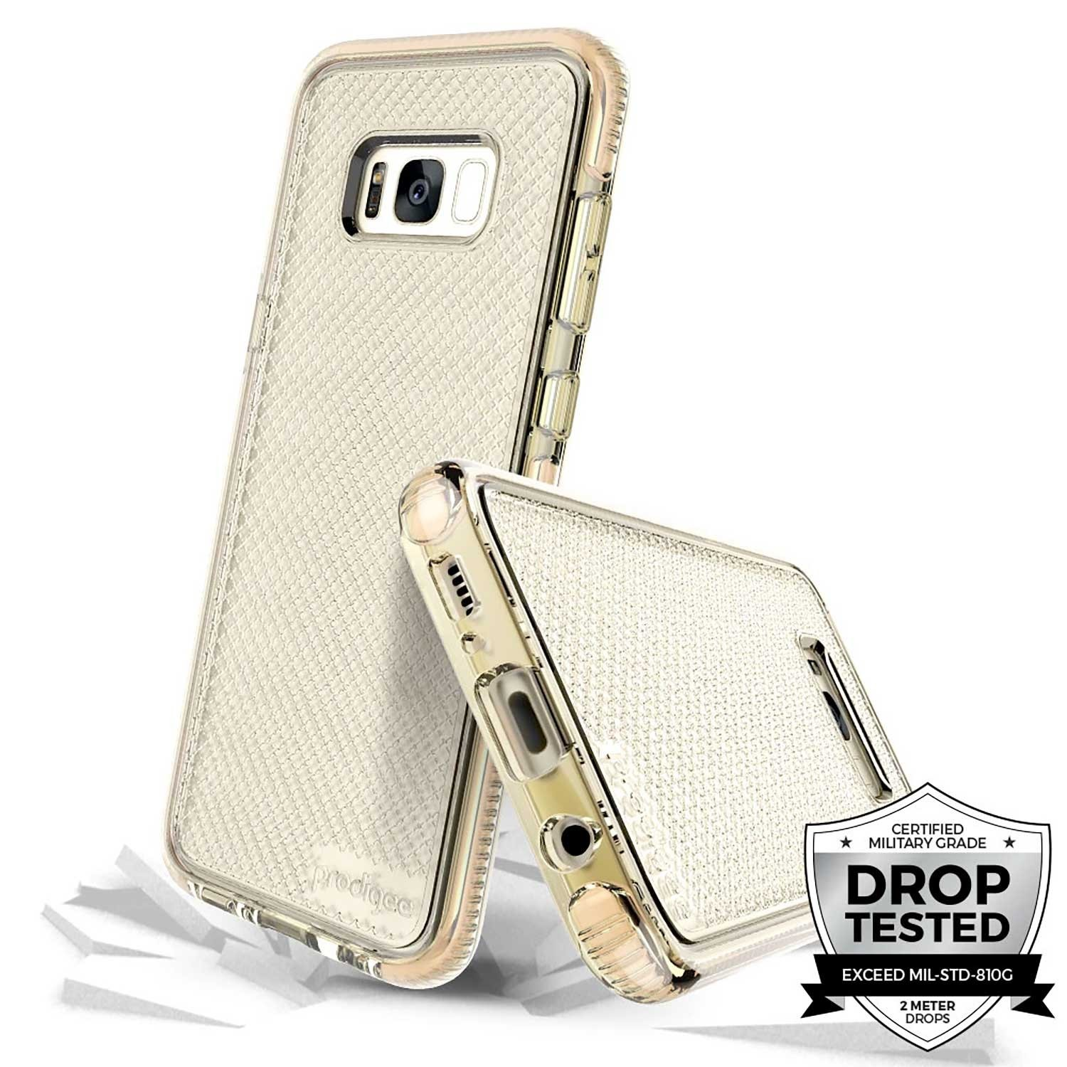 Case - PRODIGEE Safetee for Samsung S8 PLUS Gold