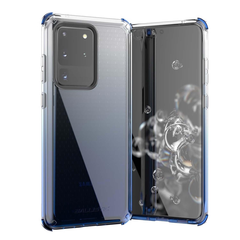 . Funda BALLISTIC Jewel para Samsung S20 ULTRA Azul Transp protector uso rudo