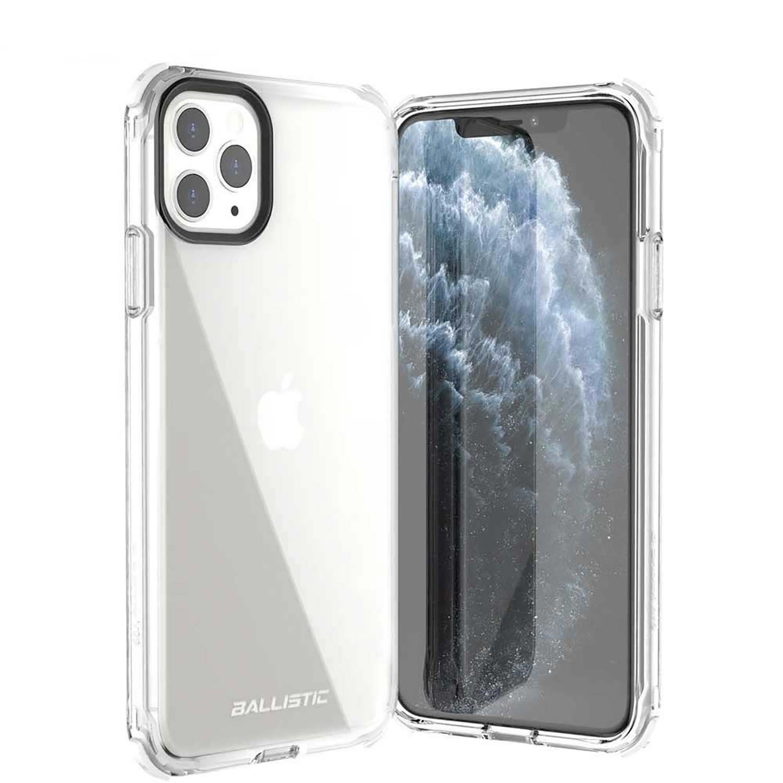 . Funda BALLISTIC Bshock para iPhone 11 PRO Blanco Transp