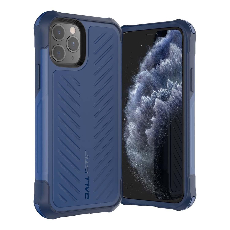 . Funda BALLISTIC TJ para iPhone 11 PRO MAX Azul protector uso rudo