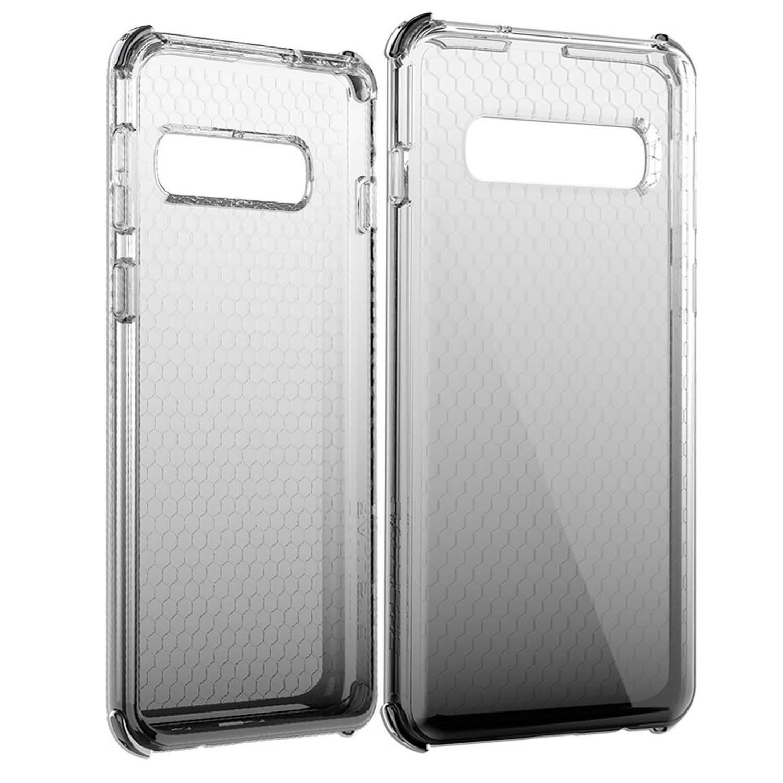 . Funda BALLISTIC Jewel para Samsung S10 Humo Tra protector uso rudo
