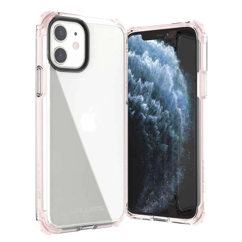 . Funda BALLISTIC Bshock para iPhone 11 Rosa Transp