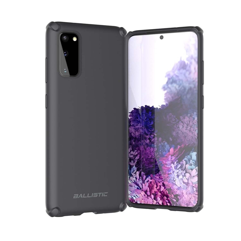 . Funda BALLISTIC Soft para Samsung S20 Negro