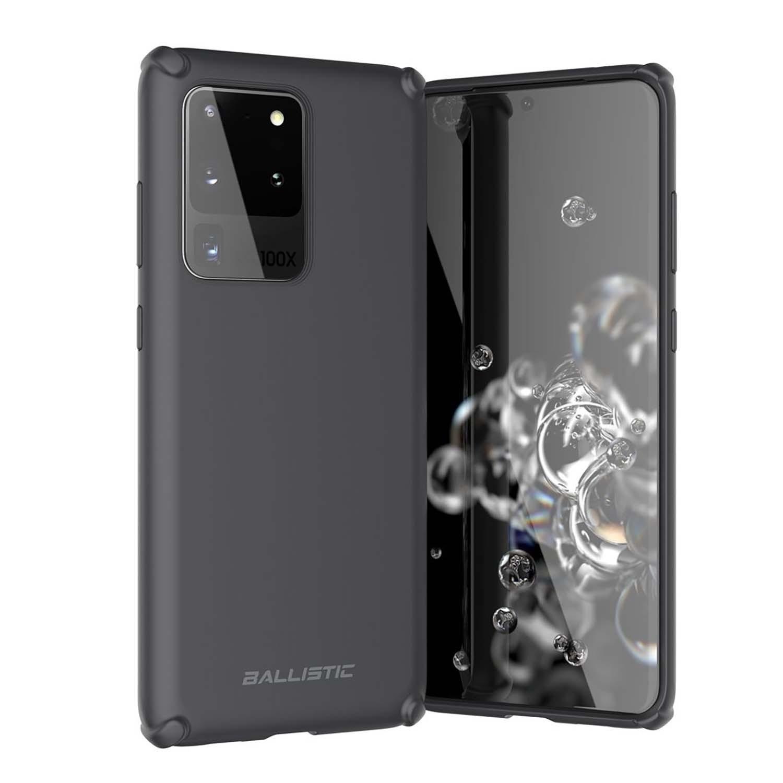 . Funda BALLISTIC Soft para Samsung S20 ULTRA Negro