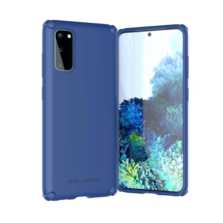 . Funda BALLISTIC Soft para Samsung S20 Azul