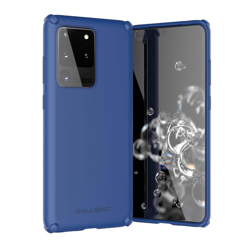 . Funda BALLISTIC Soft para Samsung S20 ULTRA Azul