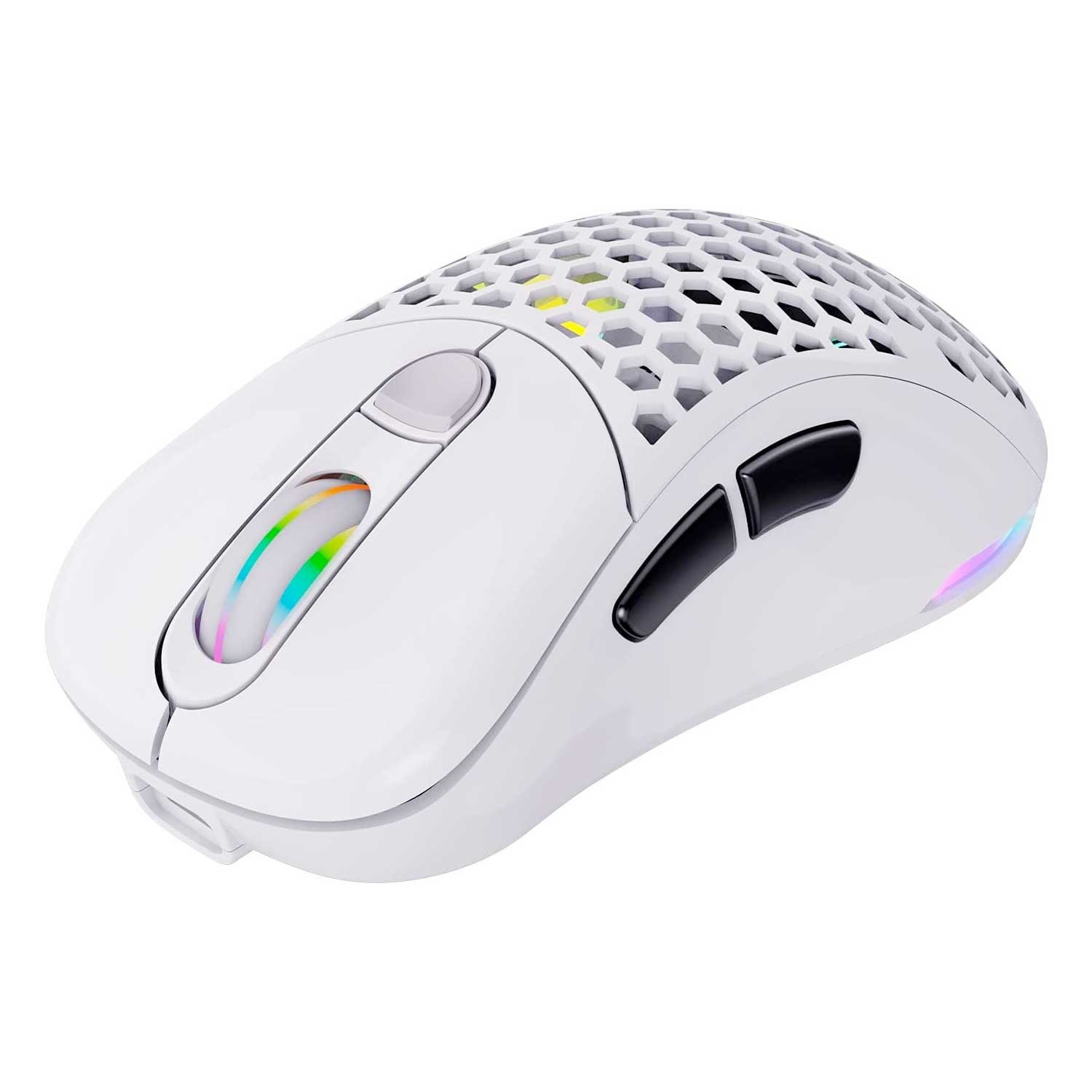 Mouse VSG Gamer Inalámbrico Aquila Fly Blanco Mate