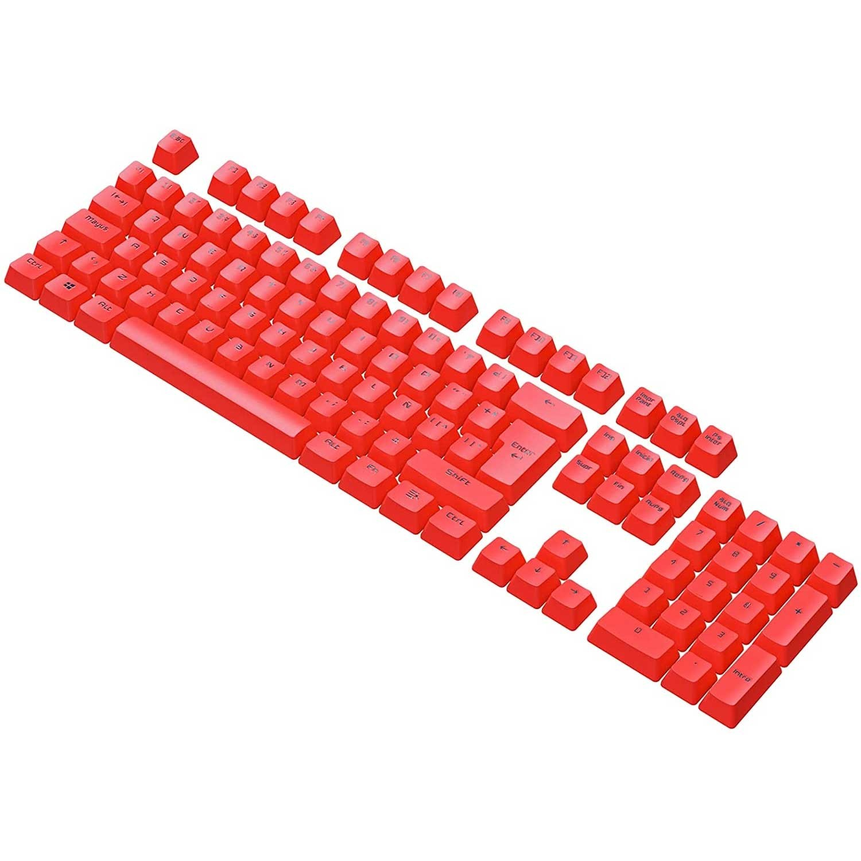 Teclas VSG Stardust Keycaps teclado de PBT Rojo