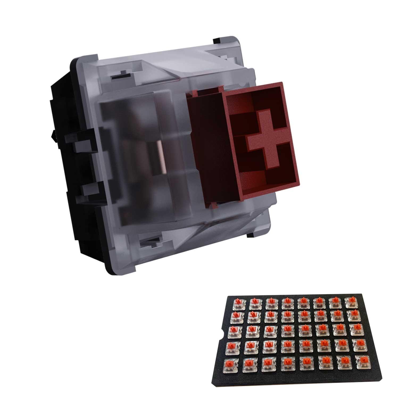 Switch Teclado VSG Gamer Kailh Box Rojo 40 piezas Interruptores para teclado mecánico