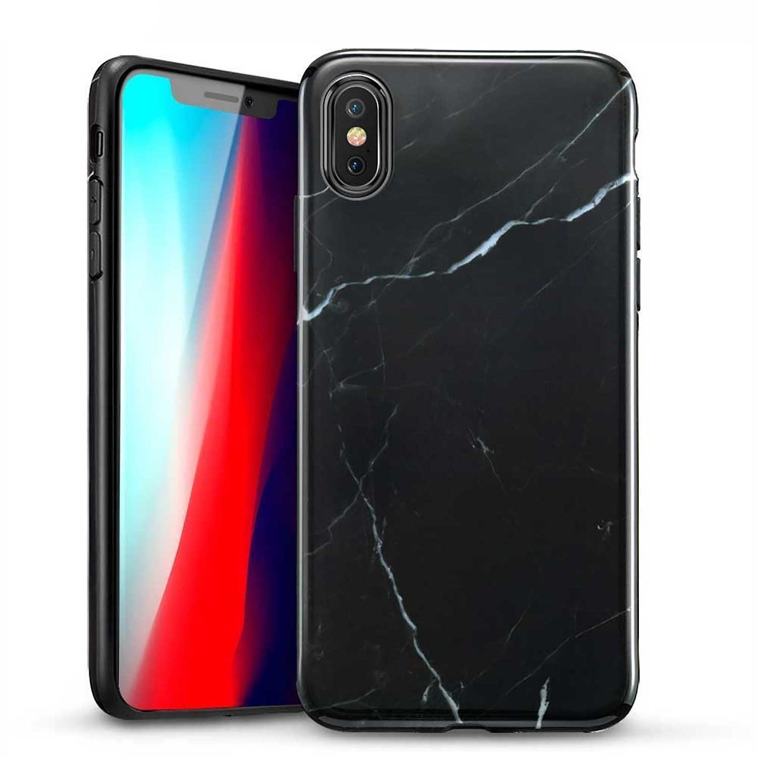 Case - ESR Marble for iPhone XS MAX - Black