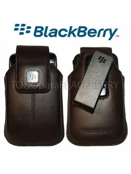 Funda Vertical 9500 9530 9550 9520 Storm Cafe Clip original Blackberry HDW-18969-002