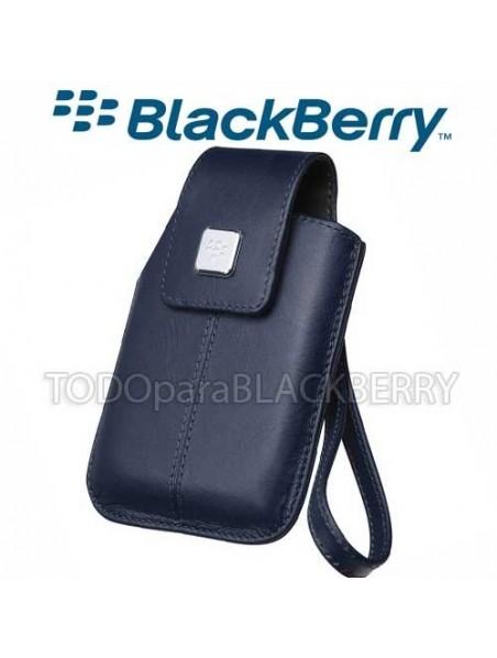 Funda Vertical 9500 9530 9550 Storm Azul Correa Original Blackberry HDW-18970-002