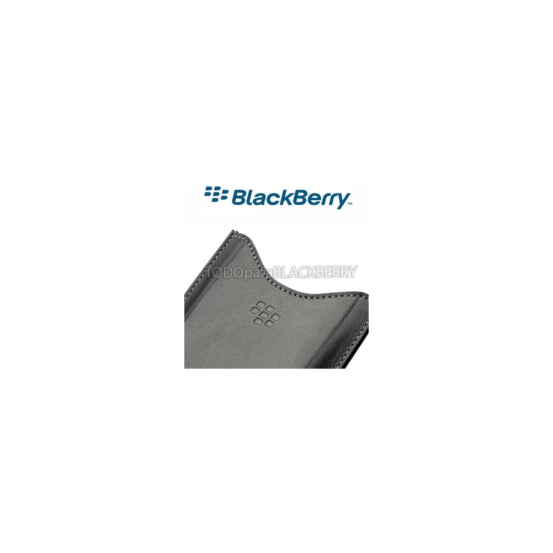 Funda Pouch 9000 8350i 9800 Negra Original Blackberry HDW-19608-001