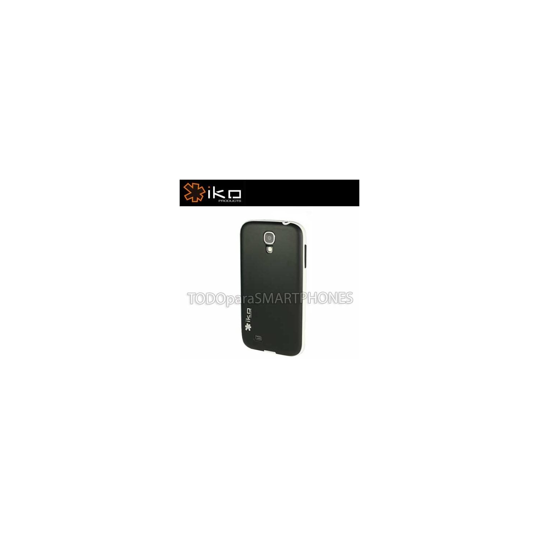 . Funda IKO Protector Hardshell Samsung S4 Negro Blanco