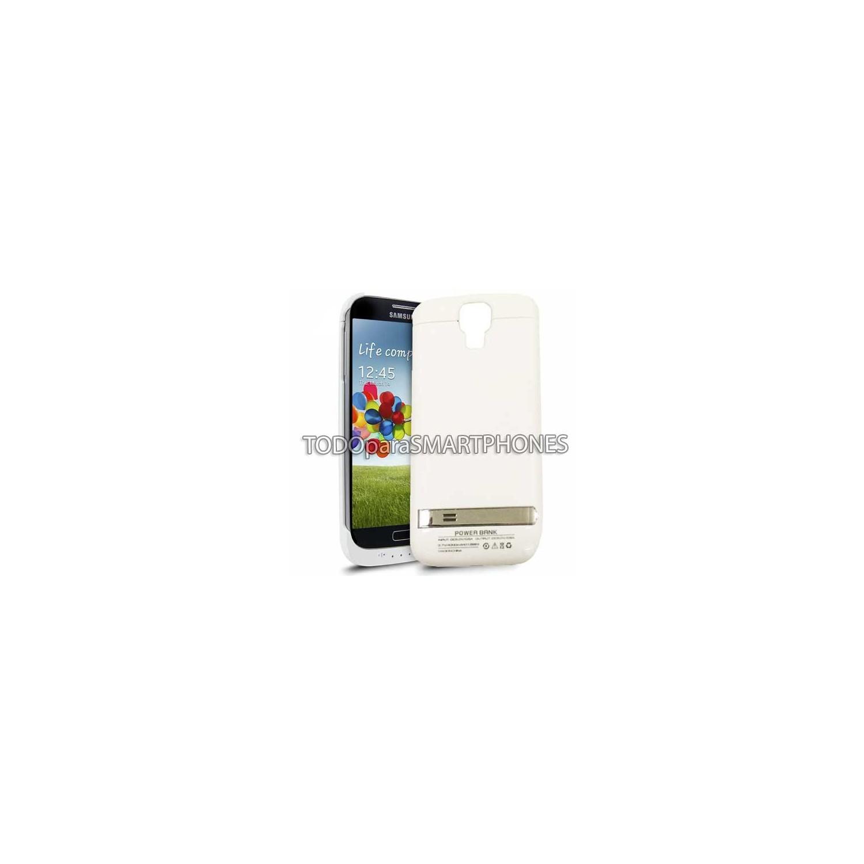 Baterry Case - Portable Power Bank Samsung S4 - White