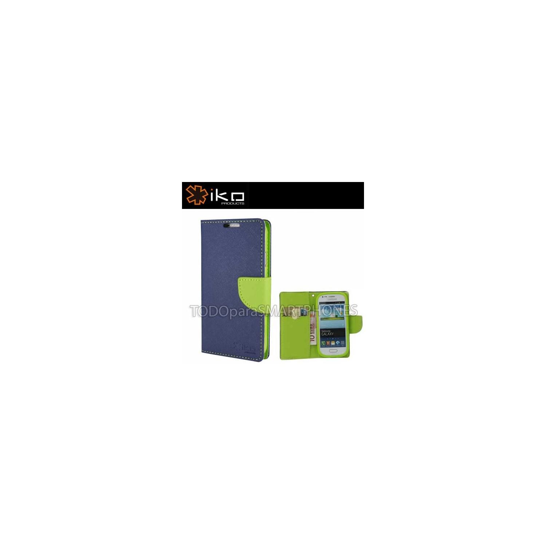 . Funda IKO Samsung S5 Wallet Azul/Verde