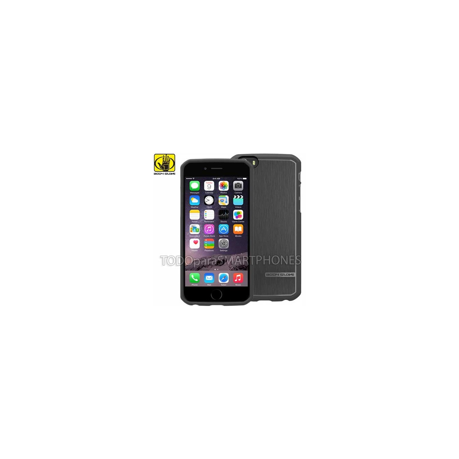 Funda Body Glove para iPhone 6 Satin negro