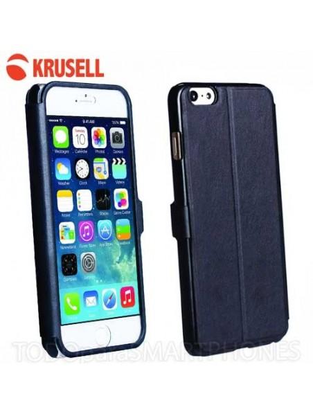 Funda iPhone 6 Krusell Donso ViewCase - Negra