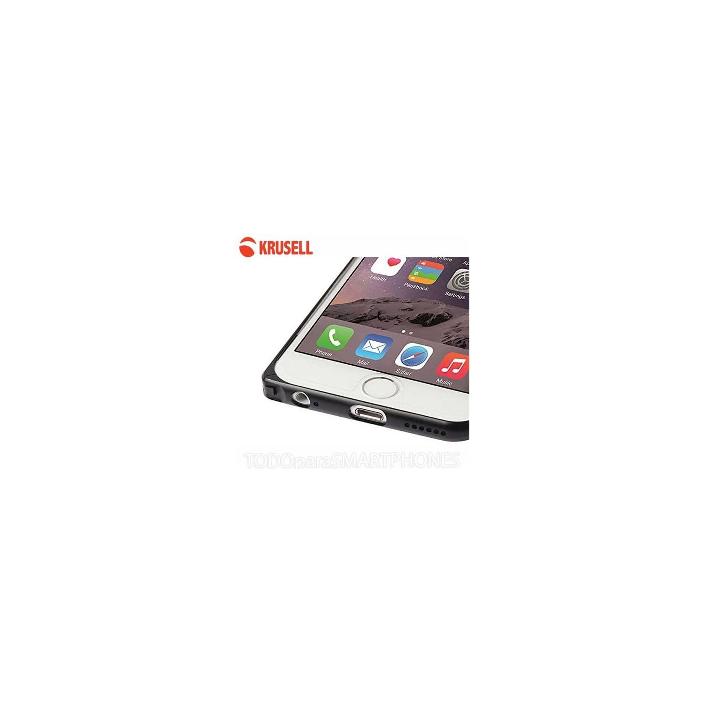 Funda iPhone 6 Krusell AluBumper Aluminio - Negro