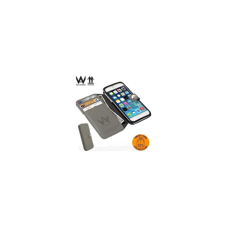 "Funda iPhone 6 Walk on Water ""Drop Off"" - Gris"