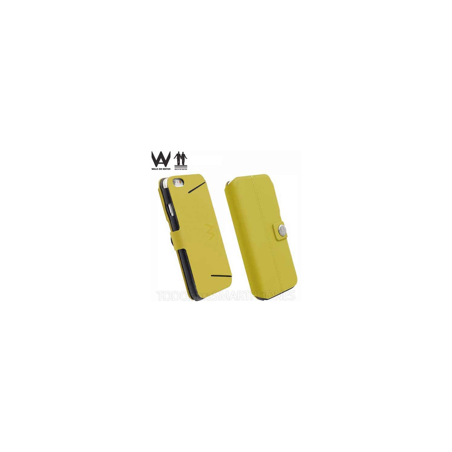 Case - Walk on Water Drop Off Carry Stand Case for iPhone 6 - Yellow