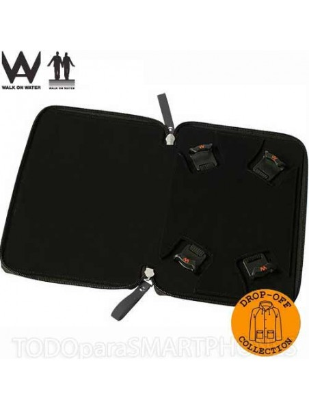 """Case - Walk on Water Drop Off Carry Stand Case for 8"""" to 10"""" Tablets - Black"""