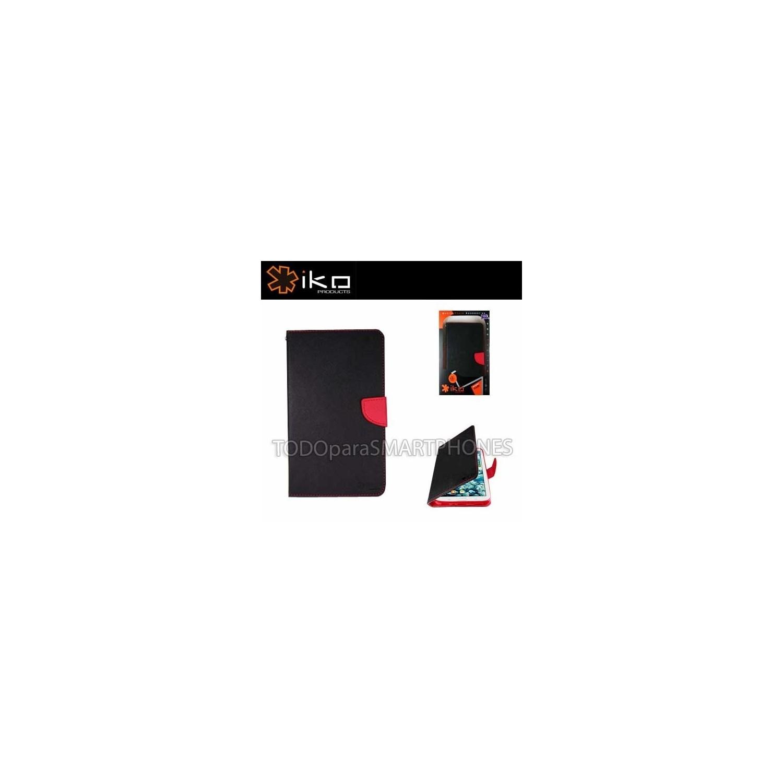 Funda IKO Samsung Note 4 Wallet Negro - Rojo