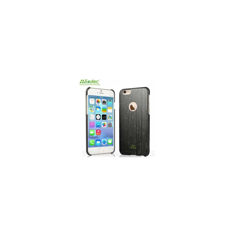 Funda EVUTEC serie S para iPhone 6 Apricot Negro