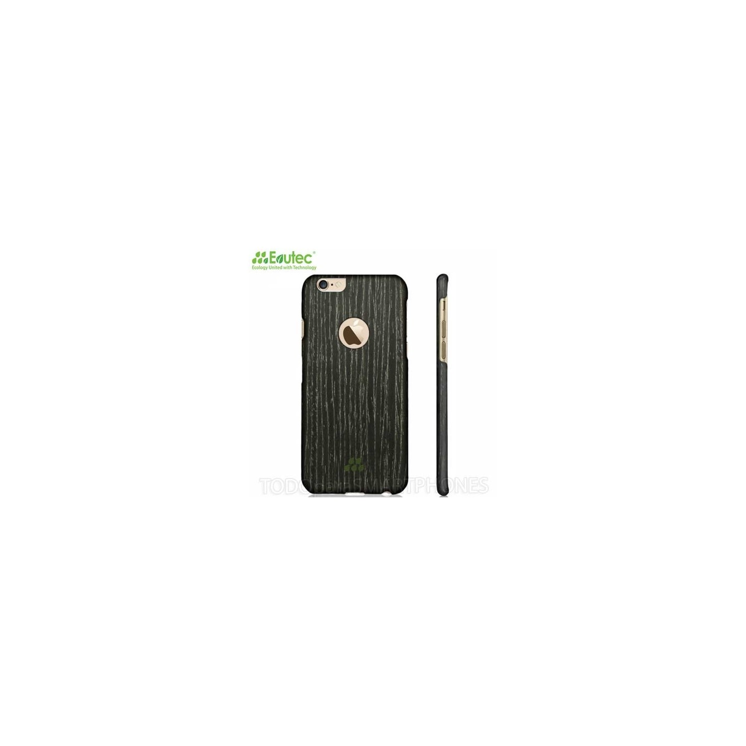 Case - Evutec Wood S for iPhone 6 Black Apricot