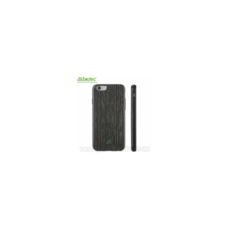 Funda EVUTEC serie SI para iPhone 6 Apricot Negro