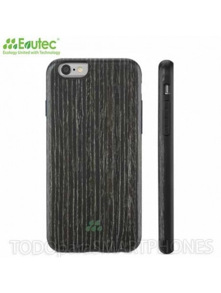 Case - Evutec Wood SI for iPhone 6 Black Apricot