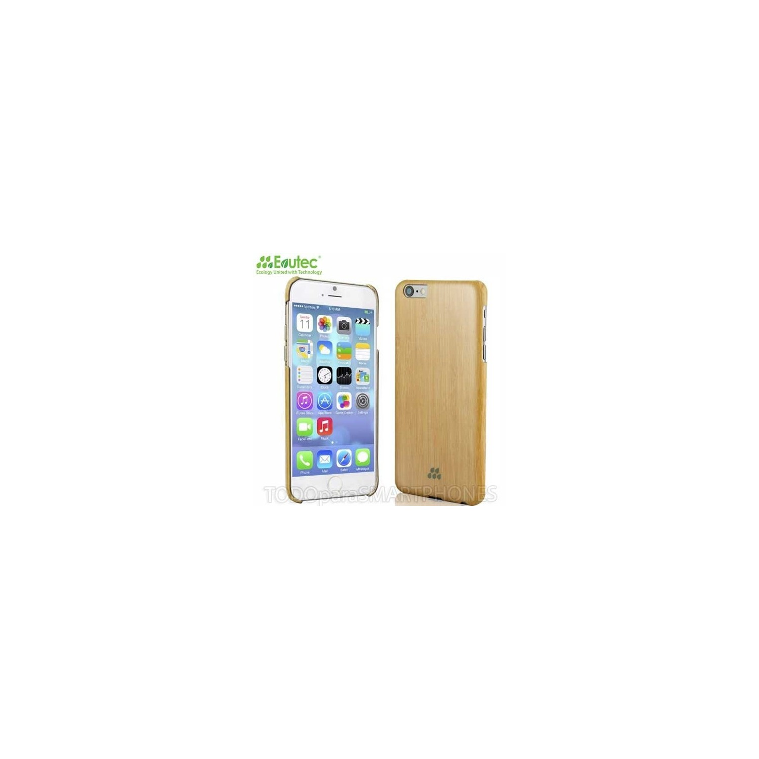 Case - Evutec Wood S for iPhone 6 Plus Bamboo