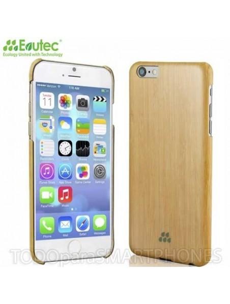 Funda EVUTEC serie S para iPhone 6 Plus Bamboo