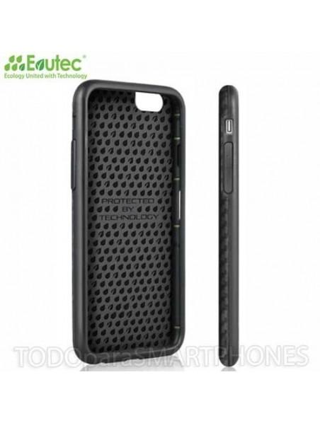 Funda EVUTEC serie SI para iPhone 6 Plus Karbon Negro
