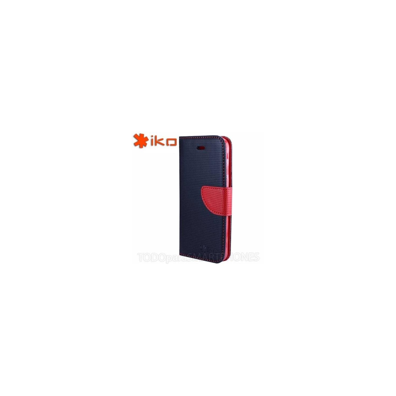Funda IKO iPhone 6s/6 Plus Wallet Rojo - Negro